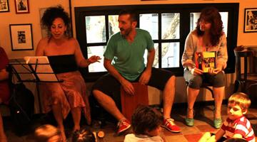 Presentación en Café Cortázar
