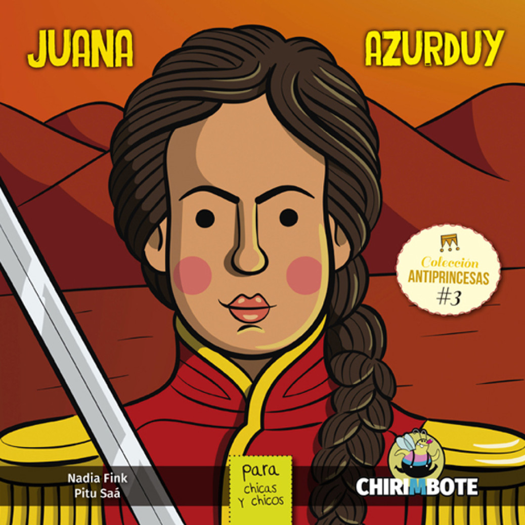 Juana Azurduy para chicas y chicos